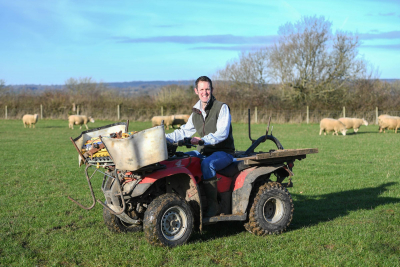 Aldi's additional spend may benefit Wiltshire sheep farmer Mark Blakeney